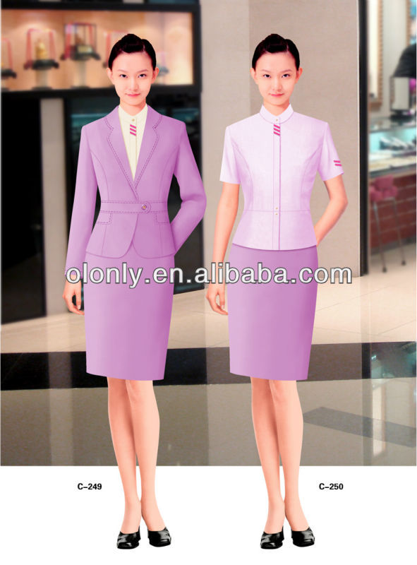 Lady's suit Lady's ceremonial wear corporation lady's uniform