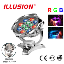 RGB SUS304 Swimming Pool Underwater Light LED Lights