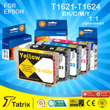 High profit margin products/ refillable printer cartridges china/ change ink cartridge for Epson T1621-T1624