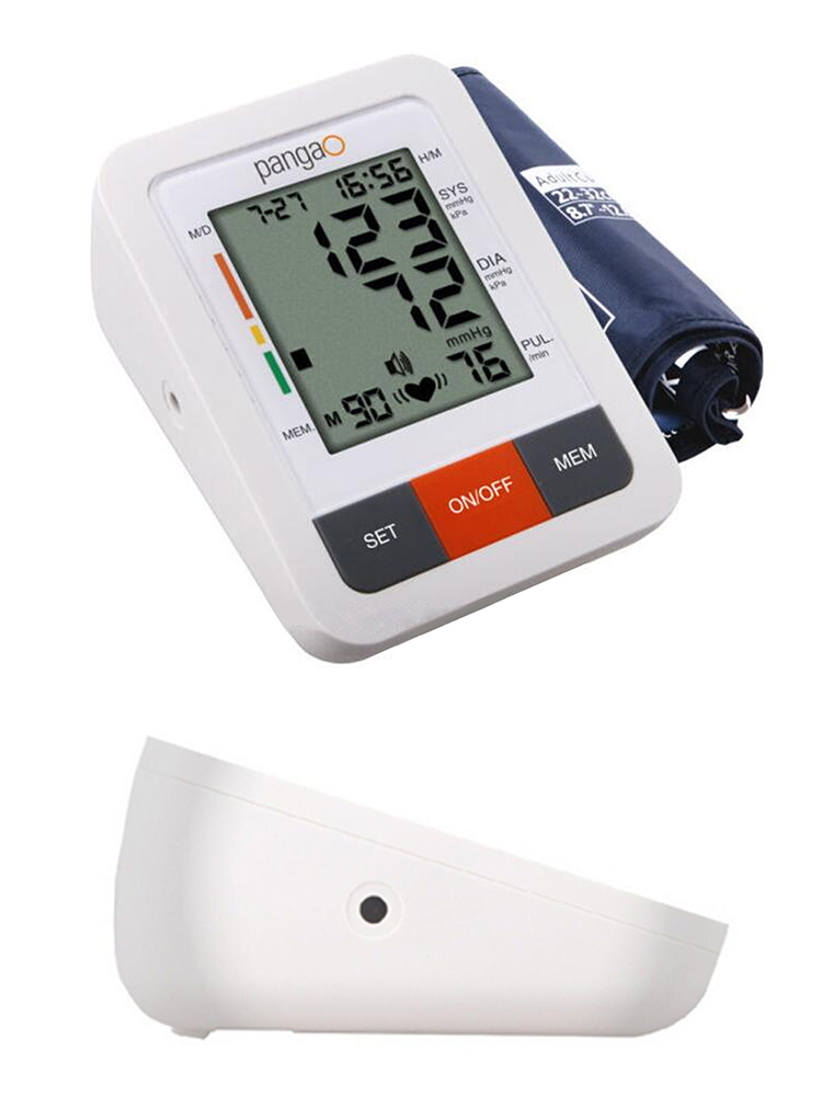 Pangao Manual Blood Pressure Monitor Upper Arm, Pediatric Blood Pressure Cuff Monitor