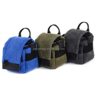 2014 newly tote wonderful classy waterproof canvas dslr camera bag