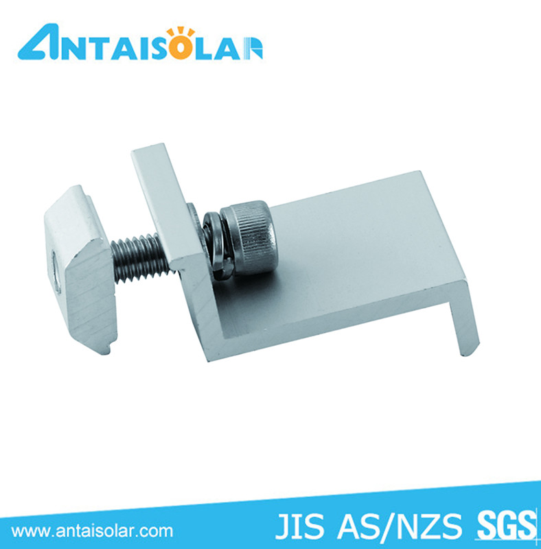 Aluminum Solar End Clamp For Solar Panel Mount Buy