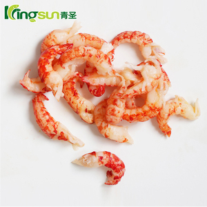 High Quality Cooked & Peeled Frozen whole round crayfish / crawfish meat For Sale