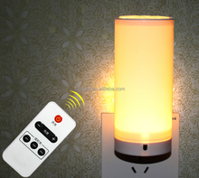 Remote control LED night light night lamp for baby room plug night light