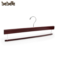 News Design Wooden Pants Hanger With Bar