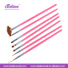Beauty Nail Art Manicure Pedicure UV Gel Design Brush Pen Set