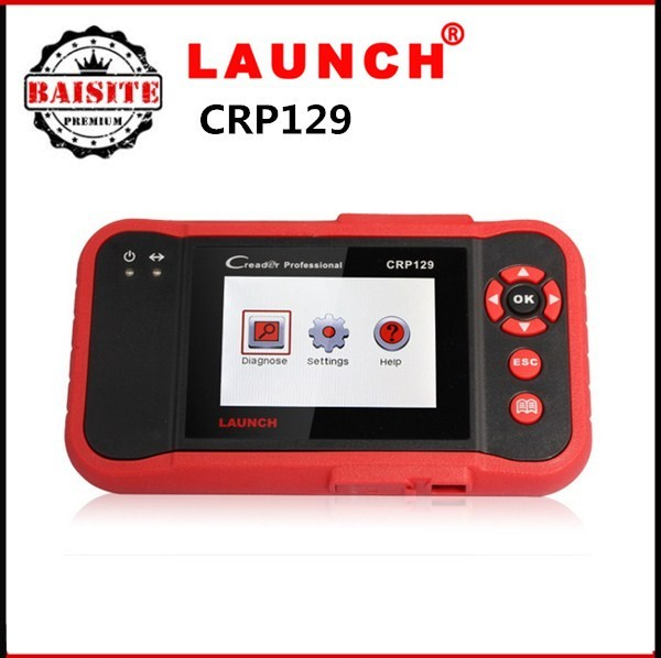 2016 Professional auto car code scanner 100% original launch x431 crp129 car diagnostic tool hot sales