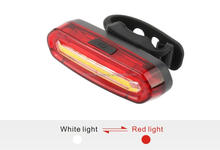 high brightness COB bike light usb rechargeable bicycle rear light cycling accessories