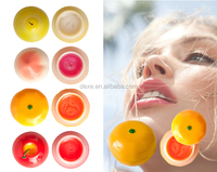 Hot selling high quality novelty lip balm with 6 flavor