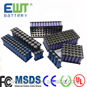 EWT 26650 Lifepo4 12v 40ah Rechargeable 18650 Lithium Iron Phosphate Batteries Pack for electric wheelchair