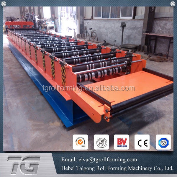 High-end metal roofing sheet molding machine