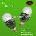 high power saving energy 220v lighting 220v lighting 9w led bulb e27