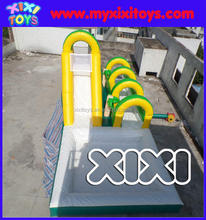 commercial inflatable water slip n slide with inflatable water slide