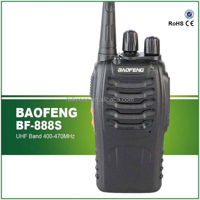 HOT selling 16CH Portable UHF Amateur Radio Baofeng bf-888s Handheld Two way radio BF-888S