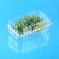 blister packaging clear plastic tray with hinge for fruit
