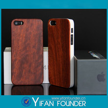 PC wood cover for iphone 5s