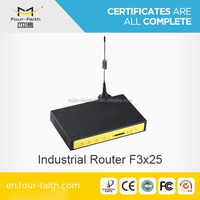 F3425 Industrial 3g cellular router for electric vehicles recharging points remote monitoring m