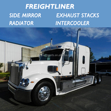 FOR FREIGHTLINER TRUCK side mirror exhaust stacks cooling radiator/intercooler