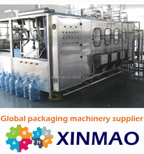 2016 Newest humanized design19L barrel/jar/bottle water washing filling capping machine
