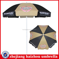 beer branding promotion beach umbrella,hd advertise outdoor umbrella,90X8k sun parasol china beach umbrella