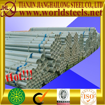 Manufacture bs1387 1inch galvanized pipe