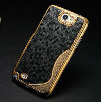 diamond pattern hard case for samsung galaxy note2, cover for n7100, hard case for note 2