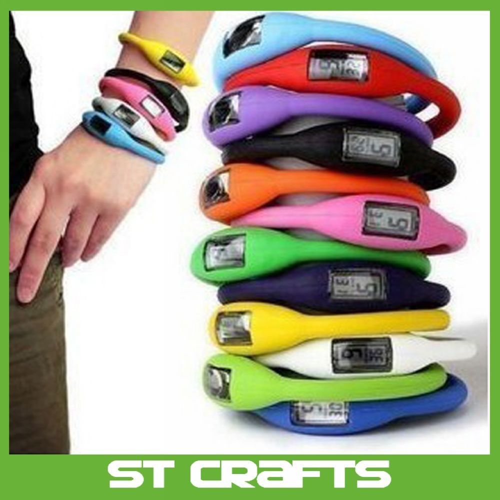 Fashion Waterproof Silicone Bracelet ion sport Wrist watch