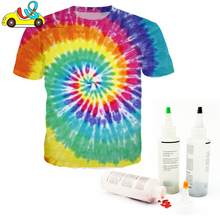 Fantastic dye for kids/adults DIY tie dye shirts for men&women//