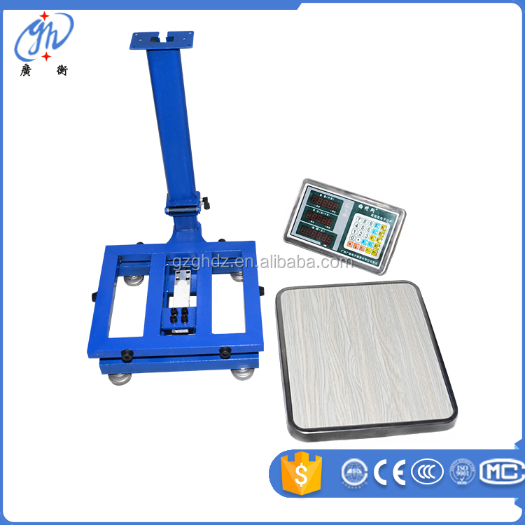Good quality platform price scale TCS LCD/LED money counting scale GH-9001