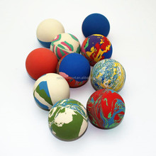R605 2017 Trending Fitness Eco-friendly Rubber Balls with Marble Colors