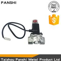 Manufacturer valves brass gas shut off type DN15A automatic lpg solenoid valve