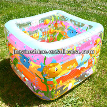 four layers Inflatable pool/inflatable diving pool/pvc diving pool for kids