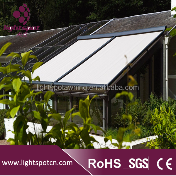 Aluminum retractable pergola awning folding cheap waterproof pergola awning outdoor large pergola canopy