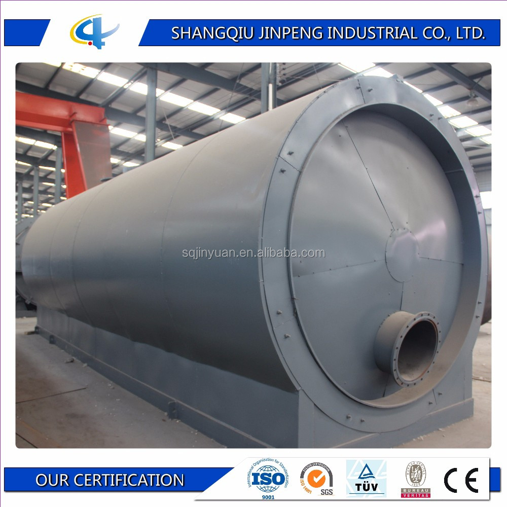 Waste Oil for Electric Generator Distillation Plant