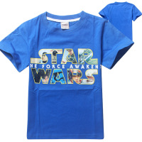 Most Popular Products For Kids New Style Fashion Boy's Shirt Wholesale Star War T Shirts