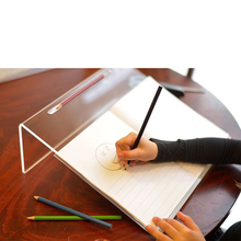 Clear Acrylic Writing Slope For Better writing posture 20 Degree Angle by