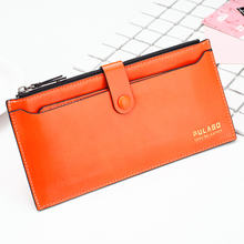 PULABO Brand Fashion Ladies Purse Clutch Bag Big Capacity Card Holder Money Clip Comfortable Leather Women <strong>Wallet</strong> 2017 New
