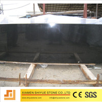 Absolute mongolia black granite slab on sale with good price