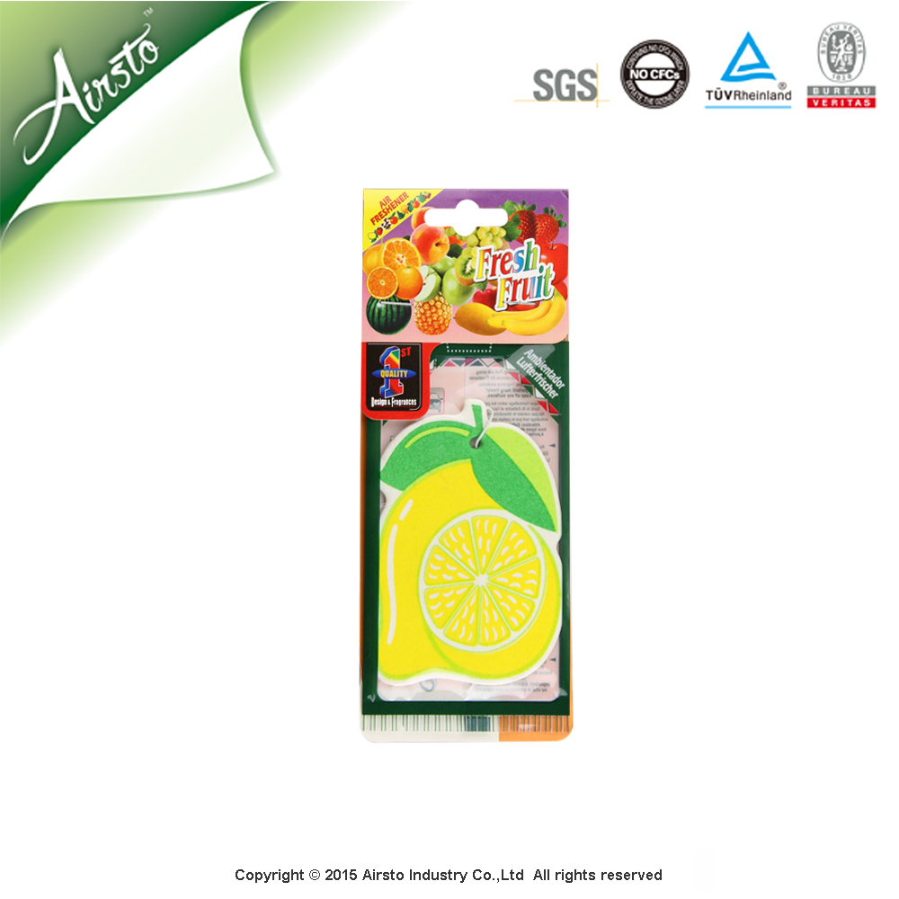 Wholesale Paper Hanging Fragrance Car Perfume Card