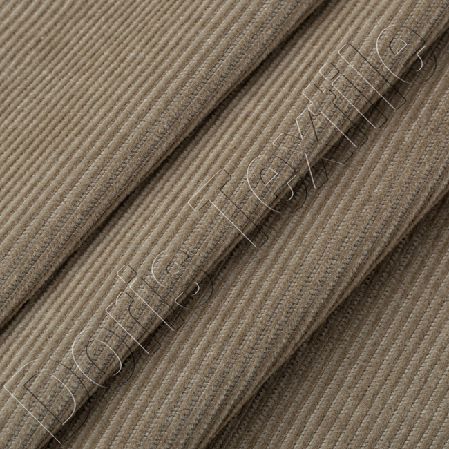grey corduroy fabric 21wale