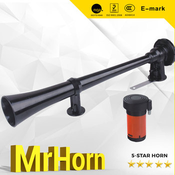 Long! Black Iron Horn Air horn with high quality for Bus and Truck Lorry