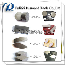 PCD Diamond Grinding Segment for Grinding Wheel for Paint, Epoxy, Mastic, Coating Removal, Concrete Grinding Versatile Polishing