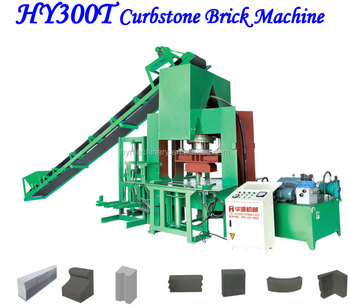 Used widely and good quality small manufacturing machines HY300T Curstone brick machine