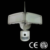 led security light with WIFI Camera controled by phone