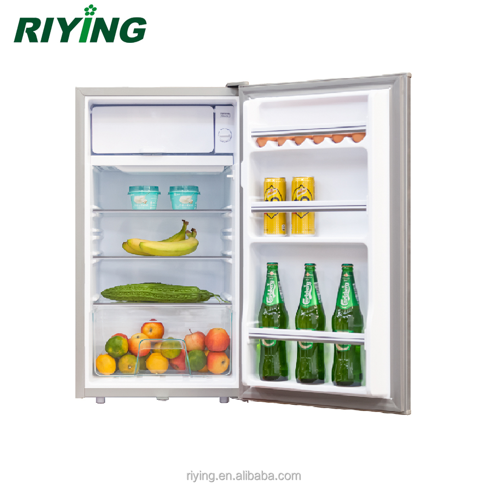 90L 12v DC Home Solar Refrigerator Solar Power Fridge