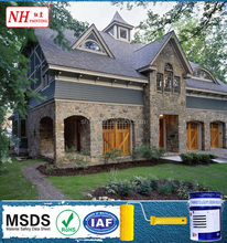 Silicone based and No-toxic Building Exterior Wall Paint