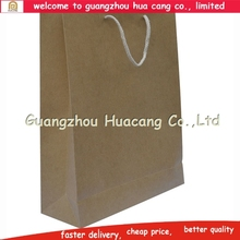 HC santa pattern paper bag/purse style paper bag/luxury paper gift bags