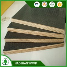 Shandong Linyi factory price 18mm melamine plywood film faced plywood poplar/ low price birch plywood