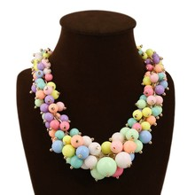 latest design beads necklace