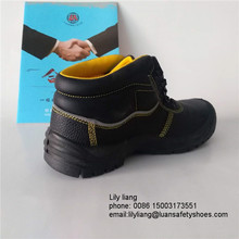 New design brand steel toe china soft sole safety shoes in korea with high quality